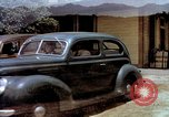 Image of Ford V8 automobile commercial advertisment 1939 United States USA, 1939, second 27 stock footage video 65675051554