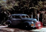 Image of Ford V8 automobile commercial advertisment 1939 United States USA, 1939, second 37 stock footage video 65675051554