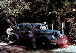 Image of Ford V8 automobile commercial advertisment 1939 United States USA, 1939, second 41 stock footage video 65675051554
