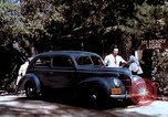 Image of Ford V8 automobile commercial advertisment 1939 United States USA, 1939, second 50 stock footage video 65675051554