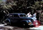 Image of Ford V8 automobile commercial advertisment 1939 United States USA, 1939, second 51 stock footage video 65675051554