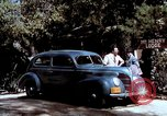 Image of Ford V8 automobile commercial advertisment 1939 United States USA, 1939, second 52 stock footage video 65675051554