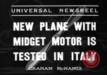 Image of Italian aircraft Rome Italy, 1936, second 6 stock footage video 65675051560