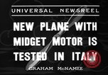 Image of Italian aircraft Rome Italy, 1936, second 7 stock footage video 65675051560
