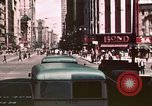 Image of vehicular traffic United States USA, 1937, second 40 stock footage video 65675051567