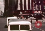 Image of vehicular traffic United States USA, 1937, second 43 stock footage video 65675051567