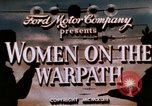 Image of American women working in World War 2 United States USA, 1943, second 7 stock footage video 65675051577