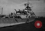 Image of German cruiser Admiral Graf Spee Montevideo Uruguay, 1939, second 16 stock footage video 65675051596