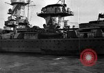 Image of German cruiser Admiral Graf Spee Montevideo Uruguay, 1939, second 19 stock footage video 65675051596