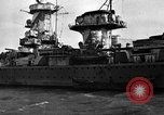 Image of German cruiser Admiral Graf Spee Montevideo Uruguay, 1939, second 20 stock footage video 65675051596