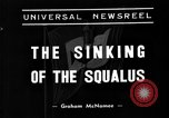 Image of USS Squalus sank during sea trials United States USA, 1939, second 2 stock footage video 65675051599