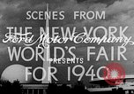 Image of New York World's fair New York City USA, 1939, second 5 stock footage video 65675051606