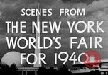 Image of New York World's fair New York City USA, 1939, second 7 stock footage video 65675051606