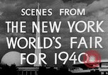 Image of New York World's fair New York City USA, 1939, second 8 stock footage video 65675051606