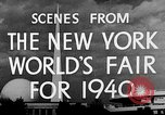 Image of New York World's fair New York City USA, 1939, second 9 stock footage video 65675051606