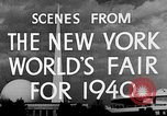 Image of New York World's fair New York City USA, 1939, second 10 stock footage video 65675051606