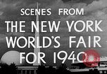 Image of New York World's fair New York City USA, 1939, second 11 stock footage video 65675051606