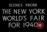 Image of New York World's fair New York City USA, 1939, second 12 stock footage video 65675051606