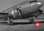 Image of United Airlines DC-3 Mainliner service from New York to Chicago Chicago Illinois USA, 1937, second 6 stock footage video 65675051611