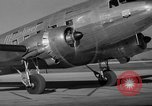 Image of United Airlines DC-3 Mainliner service from New York to Chicago Chicago Illinois USA, 1937, second 7 stock footage video 65675051611