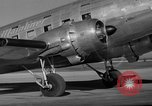 Image of United Airlines DC-3 Mainliner service from New York to Chicago Chicago Illinois USA, 1937, second 8 stock footage video 65675051611
