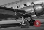 Image of United Airlines DC-3 Mainliner service from New York to Chicago Chicago Illinois USA, 1937, second 9 stock footage video 65675051611