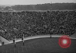 Image of football match South Bend Indiana USA, 1937, second 30 stock footage video 65675051617