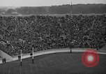 Image of football match South Bend Indiana USA, 1937, second 31 stock footage video 65675051617