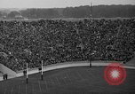 Image of football match South Bend Indiana USA, 1937, second 32 stock footage video 65675051617