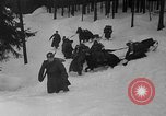 Image of sled artillery Austria, 1935, second 17 stock footage video 65675051629