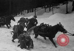 Image of sled artillery Austria, 1935, second 19 stock footage video 65675051629