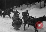 Image of sled artillery Austria, 1935, second 20 stock footage video 65675051629