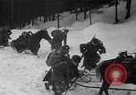 Image of sled artillery Austria, 1935, second 21 stock footage video 65675051629
