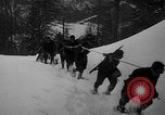 Image of sled artillery Austria, 1935, second 30 stock footage video 65675051629