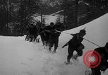 Image of sled artillery Austria, 1935, second 31 stock footage video 65675051629