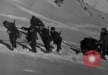 Image of sled artillery Austria, 1935, second 32 stock footage video 65675051629