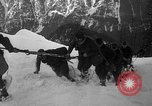 Image of sled artillery Austria, 1935, second 38 stock footage video 65675051629
