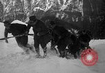 Image of sled artillery Austria, 1935, second 40 stock footage video 65675051629