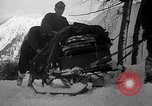 Image of sled artillery Austria, 1935, second 56 stock footage video 65675051629
