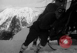 Image of sled artillery Austria, 1935, second 59 stock footage video 65675051629