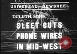 Image of damage from sleet Duluth Minnesota USA, 1935, second 1 stock footage video 65675051631