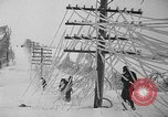 Image of damage from sleet Duluth Minnesota USA, 1935, second 24 stock footage video 65675051631
