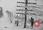 Image of damage from sleet Duluth Minnesota USA, 1935, second 25 stock footage video 65675051631