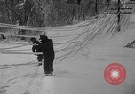 Image of damage from sleet Duluth Minnesota USA, 1935, second 37 stock footage video 65675051631