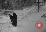 Image of damage from sleet Duluth Minnesota USA, 1935, second 38 stock footage video 65675051631