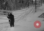 Image of damage from sleet Duluth Minnesota USA, 1935, second 39 stock footage video 65675051631