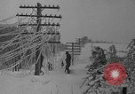 Image of damage from sleet Duluth Minnesota USA, 1935, second 44 stock footage video 65675051631