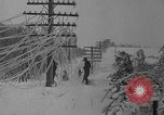 Image of damage from sleet Duluth Minnesota USA, 1935, second 46 stock footage video 65675051631