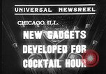 Image of models display cocktail bar gadgets Chicago Illinois USA, 1935, second 6 stock footage video 65675051632