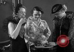 Image of models display cocktail bar gadgets Chicago Illinois USA, 1935, second 30 stock footage video 65675051632